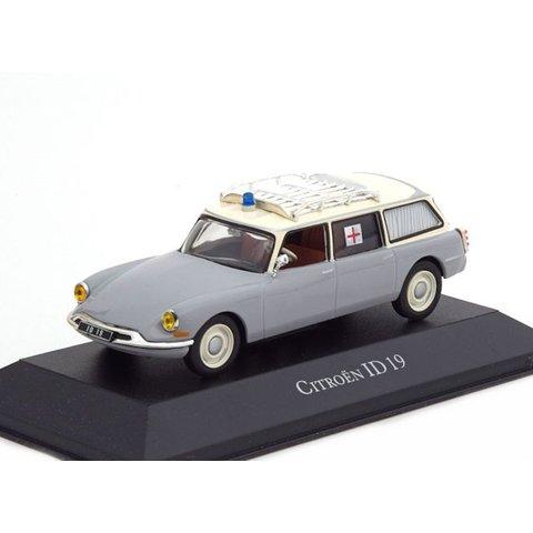 Model car Citroën ID 19 Break 1962 ambulance 1:43