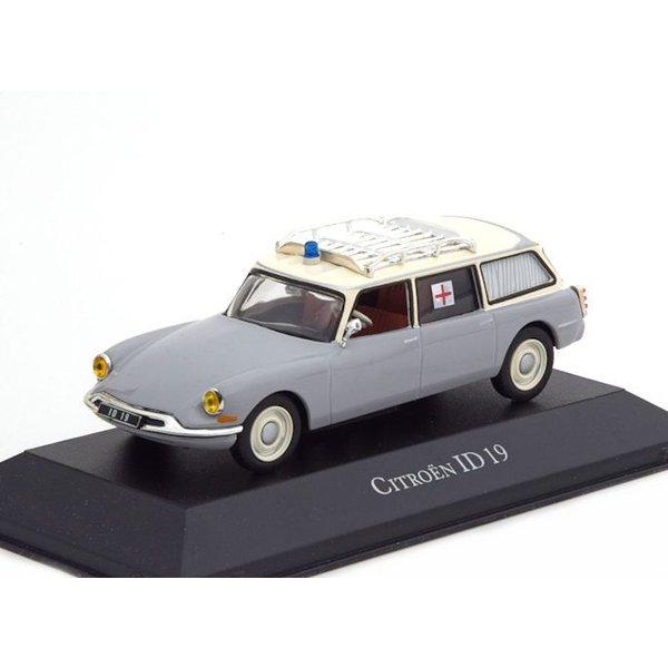 Model car Citroën ID 19 Break 1962 ambulance 1:43 | Atlas (Editions Atlas)