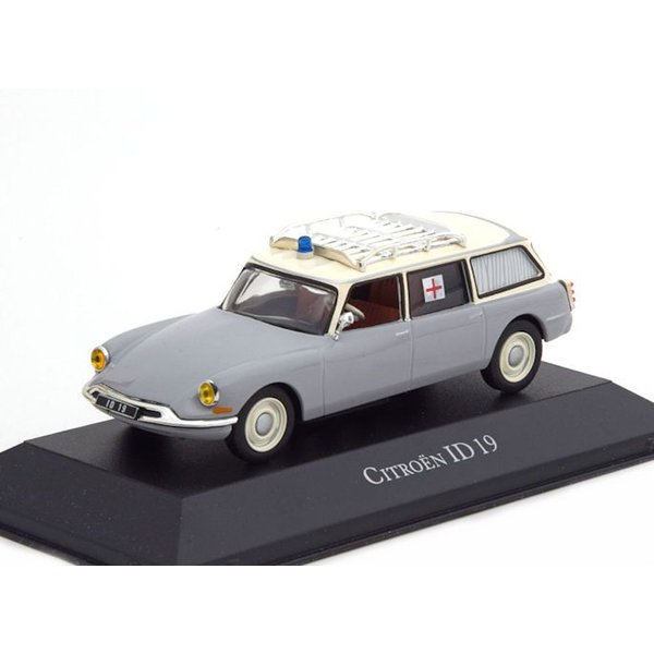 Model car Citroën ID 19 Break ambulance 1962 1:43 | Atlas (Editions Atlas)
