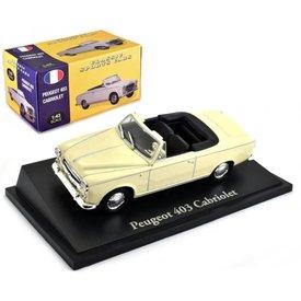 Atlas Peugeot 403 Cabriolet cream 1:43