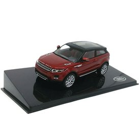 Ixo Models Modelauto Land Rover Range Rover Evoque 3-deurs Firenze rood 1:43