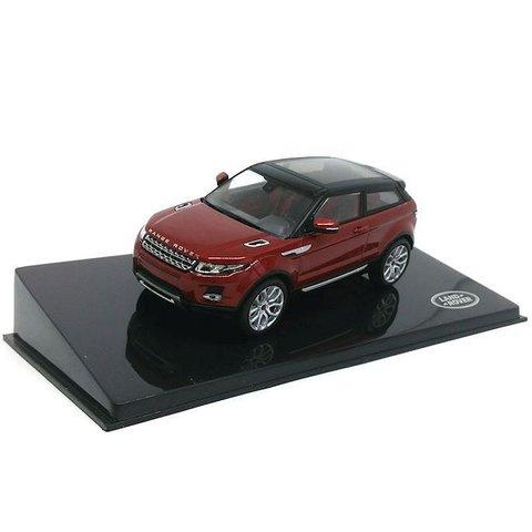 Land Rover Range Rover Evoque 3-deurs Firenze rood - Modelauto 1:43