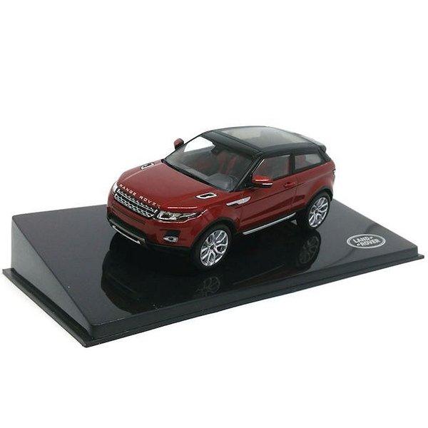 Modellauto Land Rover Range Rover Evoque 3-Türer Firenze rot 1:43