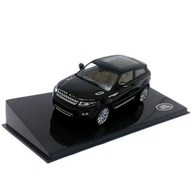 Ixo Models Land Rover Range Rover Evoque 3-deurs Santorini zwart - Modelauto 1:43