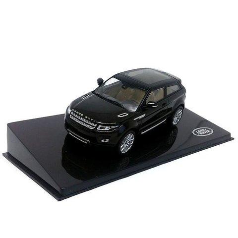 Land Rover Range Rover Evoque 3-deurs Santorini zwart - Modelauto 1:43