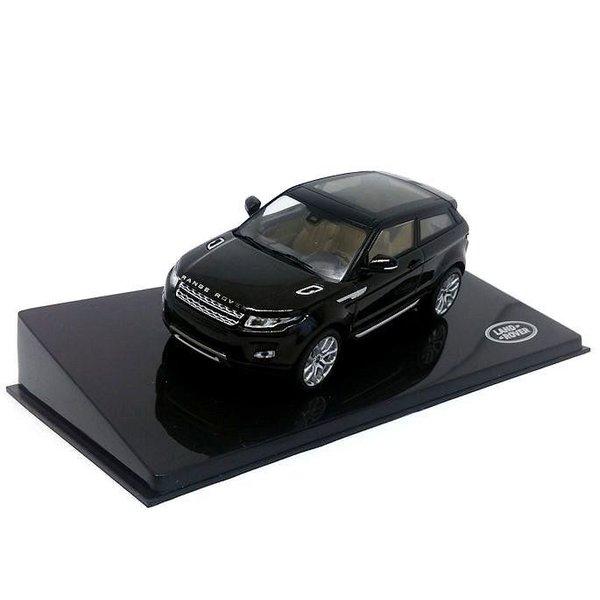 Modellauto Land Rover Range Rover Evoque 3-Türer Santorini schwarz 1:43