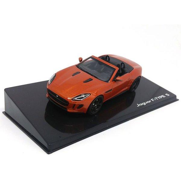 Model car Jaguar F-type V8-S Convertible  Firesand 1:43 | Ixo Models