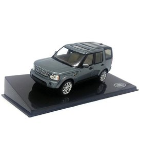 Ixo Models Land Rover Discovery Indus zilver - Modelauto 1:43