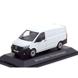 Norev Mercedes Benz Vito Bestelbus (477) 2014 wit - Modelauto 1:43