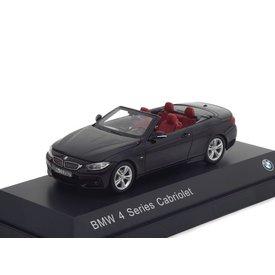 iScale BMW 4er Cabriolet (F33) 2013 schwarz 1:43