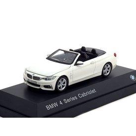 iScale BMW 4er Cabriolet (F33) 2013 weiß - Modellauto 1:43