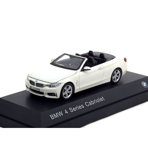 BMW 4 Series Cabriolet (F33) 2013 white 1:43