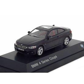 iScale BMW 4er Coupe (F32) 2013 schwarz 1:43