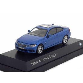 iScale BMW 4er Coupe (F32) 2013 blau metallic - Modellauto 1:43