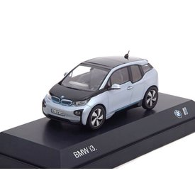 iScale BMW i3 2014 Ionic zilver 1:43
