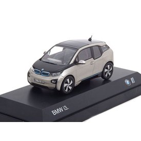iScale BMW i3 2014 Andesit zilver 1:43