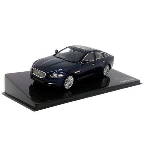 Jaguar XJ Dark Sapphire - Modelauto 1:43