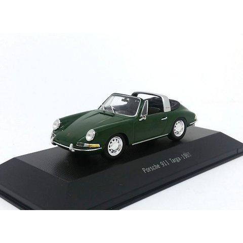 Porsche 911 Targa 1965 groen - Modelauto 1:43