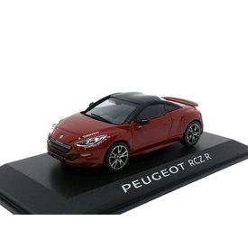 Norev Peugeot RCZ R 2014 donkerrood/zwart - Modelauto 1:43