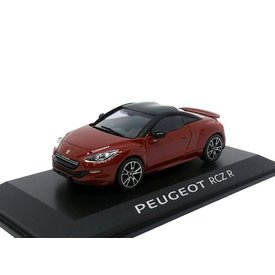 Norev Peugeot RCZ R 2014 dunkelrot schwarz - Modellauto 1:43