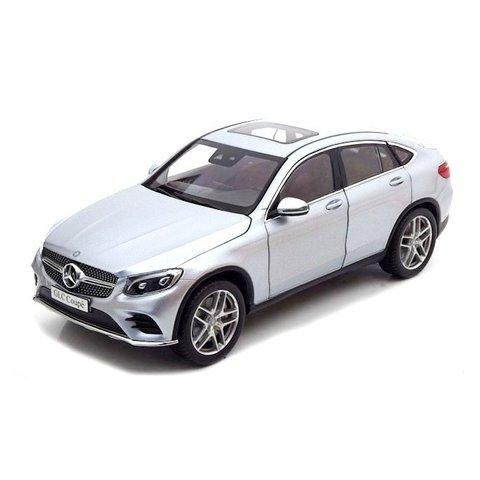 Mercedes Benz GLC Coupe (C253) 2016 diamontsilber - Modellauto 1:18