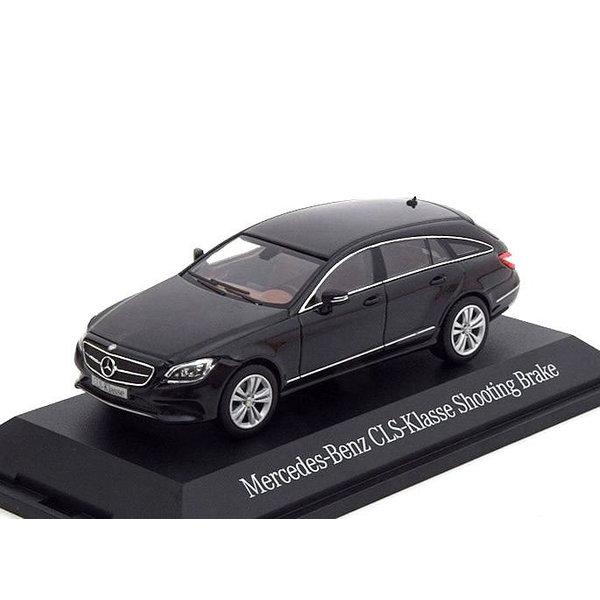 Modelauto Mercedes Benz CLS-Klasse Shooting Brake (X218) 2012 zwart 1:43