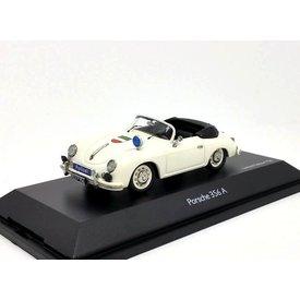Schuco Porsche 356A Cabriolet 'Polizei' - Modelauto 1:43