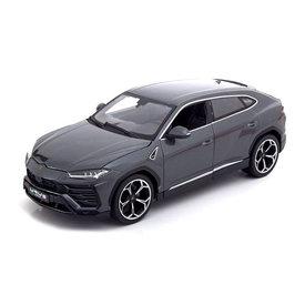 Bburago Modelauto Lamborghini Urus 2018 grijs metallic 1:18
