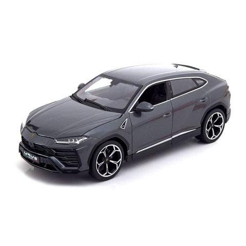 Lamborghini Urus 2018 grijs metallic - Modelauto 1:18