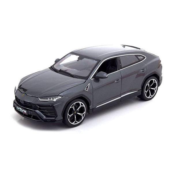 Model car Lamborghini Urus 2018 grey metallic 1:18