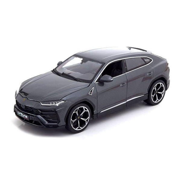 Modellauto Lamborghini Urus 2018 grau metallic 1:18