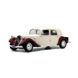 Solido Citroën Traction Avant 11CV  1938 bordeauxrood / beige 1:18