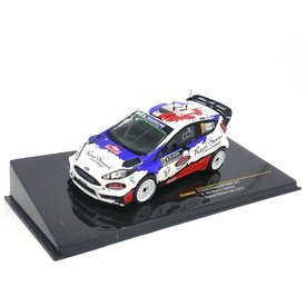 Ixo Models Ford Fiesta RS WRC No. 17 2016 - Model car 1:43