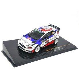Ixo Models Model car Ford Fiesta RS 2016 WRC Nr. 17 1:43
