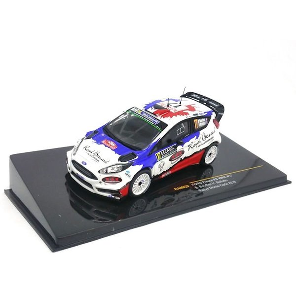 Model car Ford Fiesta RS WRC No. 17 2016 1:43