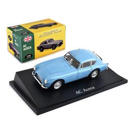 Atlas Model car AC Aceca light blue 1:43