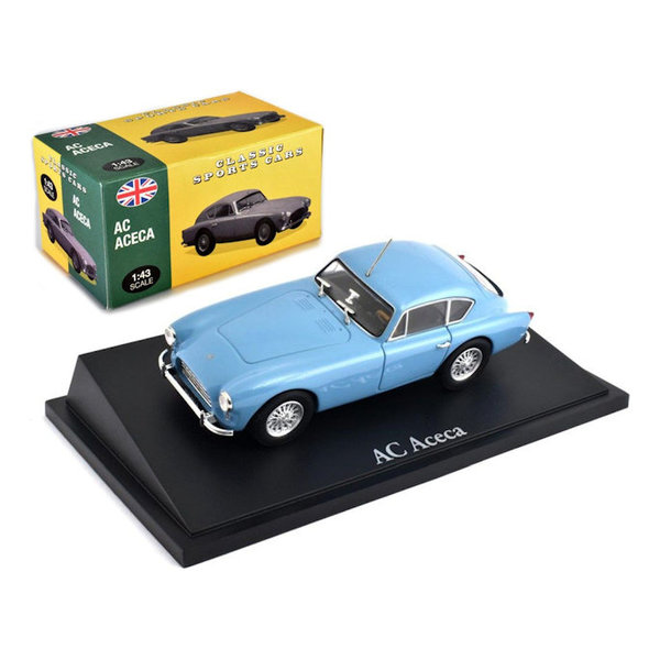 Modelauto AC Aceca lichtblauw 1:43