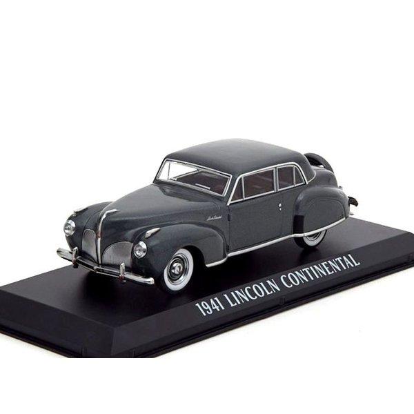 Lincoln Continental 1941 grijs metallic - Modelauto 1:43