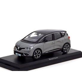Norev Renault Scenic 2016 grijs metallic / zwart - Modelauto 1:43
