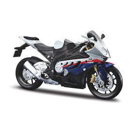 Maisto Model motorcycle BMW S1000RR 2010 white/blue 1:12