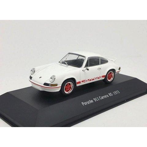 Porsche 911 Carrera 1973 wit 1:43