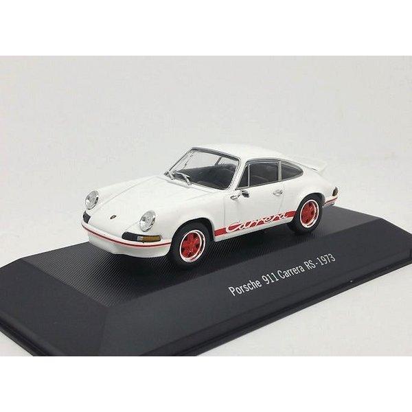 Porsche 911 Carrera RS 1973 wit - Modelauto 1:43
