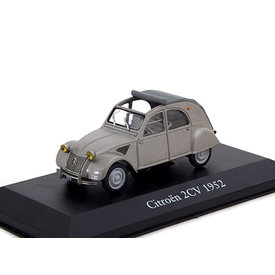 Atlas Citroën 2CV 1952 grey - Model car 1:43