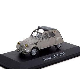 Atlas Citroën 2CV 1952 grijs 1:43