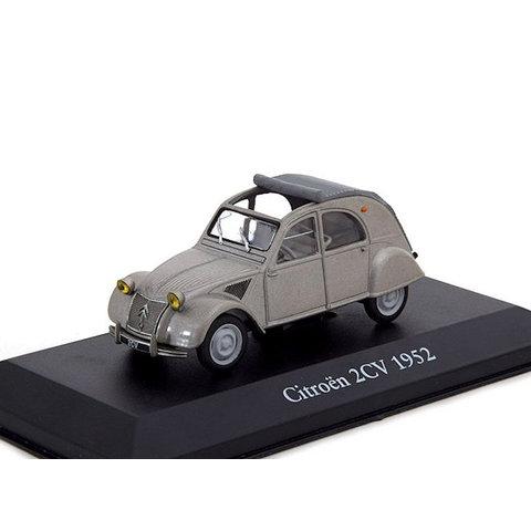 Citroën 2CV 1952 grijs - Modelauto 1:43