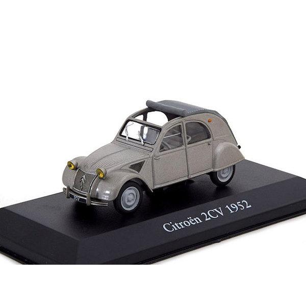 Citroën 2CV 1952 grey - Model car 1:43