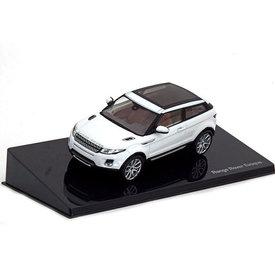 Ixo Models Land Rover Range Rover Evoque 3-Türer Fuji weiß - Modellauto 1:43