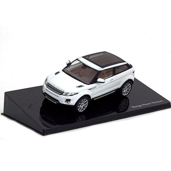 Land Rover Range Rover Evoque 3-door Fuji white - Model car 1:43