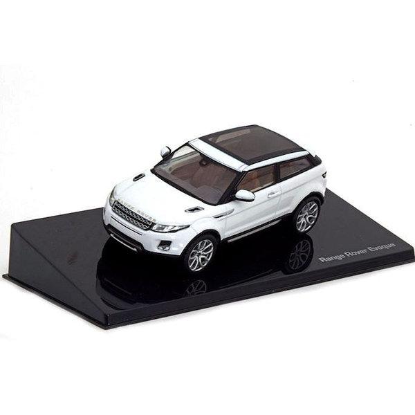 Modellauto Land Rover Range Rover Evoque 3-Türer Fuji weiß 1:43