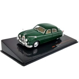 Ixo Models Jaguar Mk I 1957 groen - Modelauto 1:43
